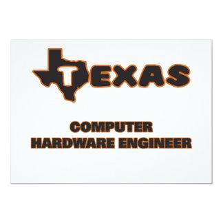 Ingeniero del hardware de Tejas Invitación 12,7 X 17,8 Cm