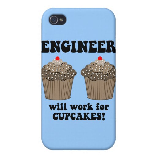 ingeniero divertido iPhone 4 carcasa