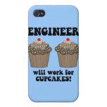 ingeniero divertido iPhone 4 fundas