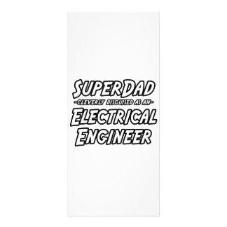 Ingeniero eléctrico de SuperDad… Lona Publicitaria