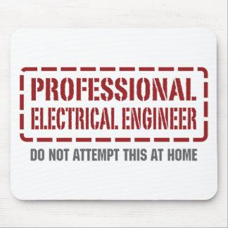 Ingeniero eléctrico profesional alfombrilla de raton