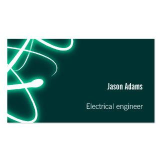 Ingeniero eléctrico - tarjeta de visita