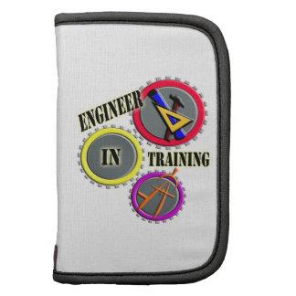 Ingeniero en el entrenamiento organizadores