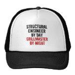 Ingeniero estructural de Grillmaster Gorras De Camionero