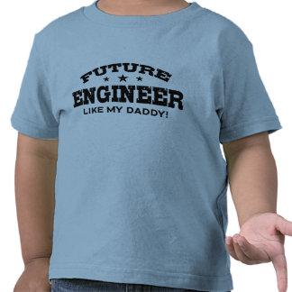 Ingeniero futuro camiseta