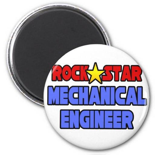 Ingeniero industrial de la estrella del rock imanes