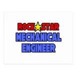 Ingeniero industrial de la estrella del rock tarjetas postales