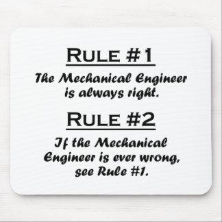 Ingeniero industrial de la regla alfombrilla de ratones