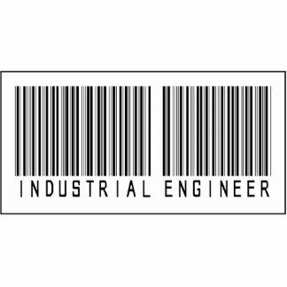Ingeniero industrial del código de barras esculturas fotográficas