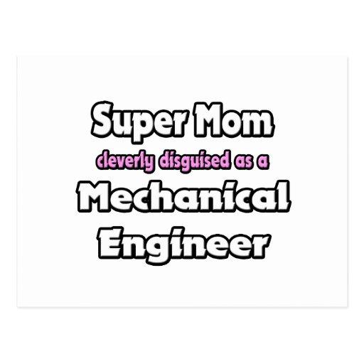 Ingeniero industrial estupendo de la mamá… tarjetas postales