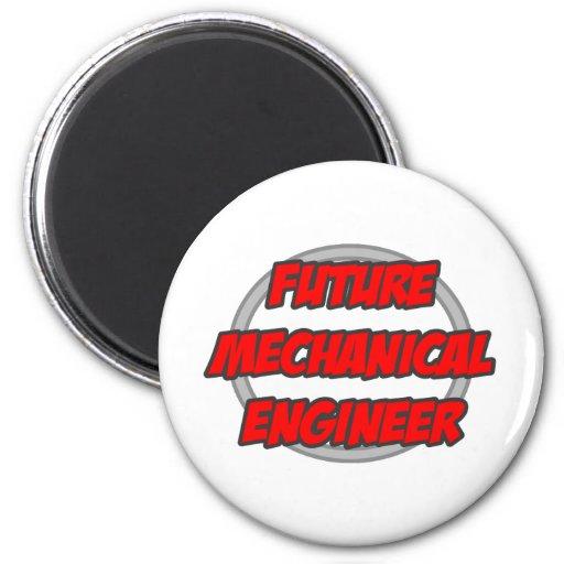 Ingeniero industrial futuro imán redondo 5 cm
