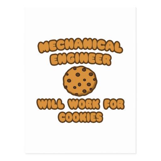Ingeniero industrial. Trabajará para las galletas Postal
