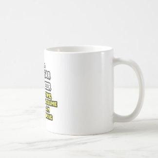 Ingeniero nuclear Nunca perjudique Tazas De Café