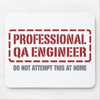 Ingeniero profesional del QA Tapete De Ratones