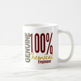 Ingeniero químico auténtico tazas