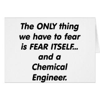 ingeniero químico del miedo tarjetas