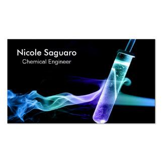 Ingeniero químico tarjetas de visita