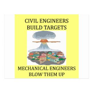 ingenieros civilmechanical postales