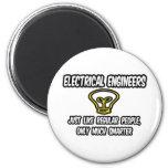 Ingenieros eléctricos. Gente regular, solamente má Imán De Nevera