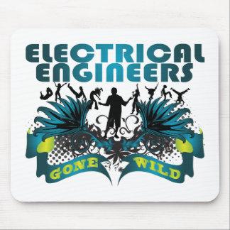 Ingenieros eléctricos idos salvajes tapetes de raton