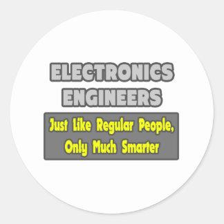 Ingenieros electrónicos… más elegantes pegatinas
