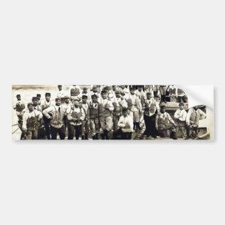 Ingenieros franceses de WWI en Grenoble Pegatina Para Auto