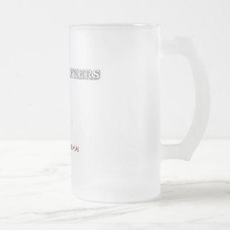 Ingenieros reales jarra de cerveza esmerilada