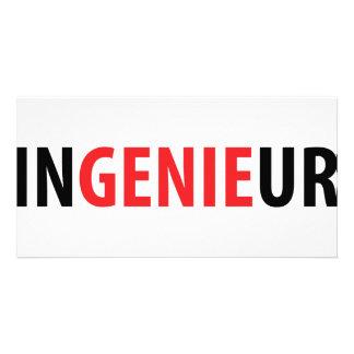 Ingenieur Genie icon Photo Card