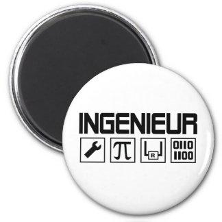 ingenieur icon 2 inch round magnet