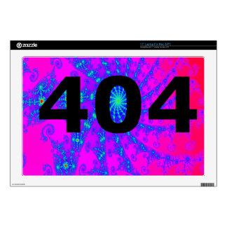 Ingenio psicodélico desorientado 404 skins para 43,2cm portátiles