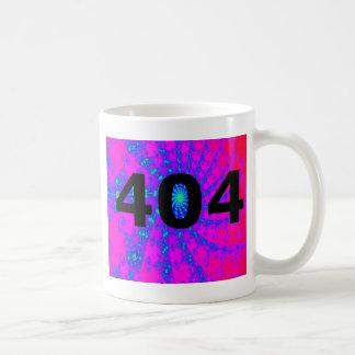 Ingenio psicodélico desorientado 404 taza