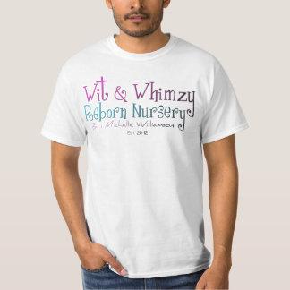 Ingenio y camiseta renacida del logotipo del