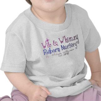 Ingenio y camiseta renacida del niño del cuarto de
