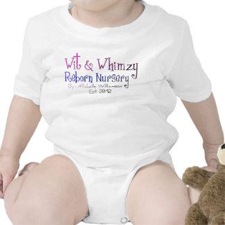Ingenio y enredadera renacida del niño del cuarto trajes de bebé