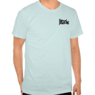 Ingenting liten logo tee shirts
