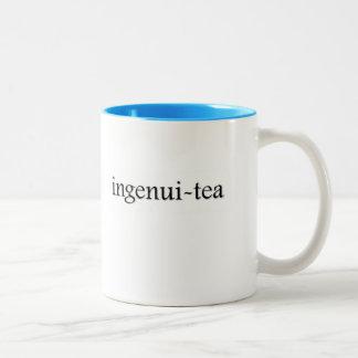 Ingenui-tea Tea Cup Two-Tone Coffee Mug