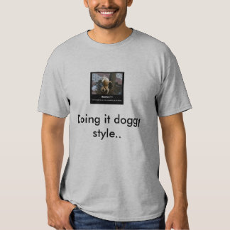 ingenuity-dog-pee1, Doing it doggy style.. T Shirt