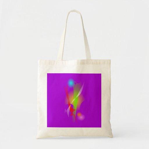 Ingenuity Purple Tote Bags