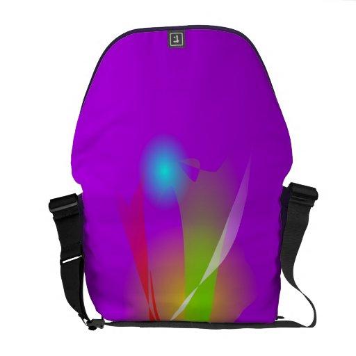 Ingenuity Purple Messenger Bags
