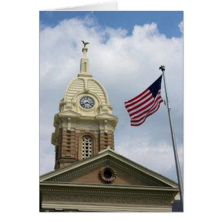 Ingham County Court House - Mason, Michigan Greeting Card