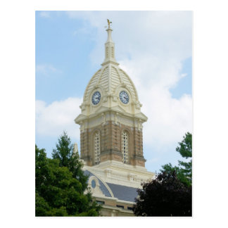 Ingham County Court House - Mason, Michigan Postcard