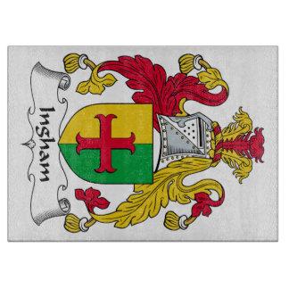 Ingham Family Crest Cutting Board