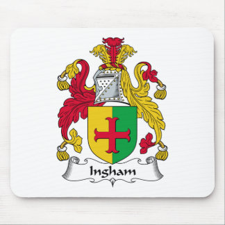 Ingham Family Crest Mouse Pad