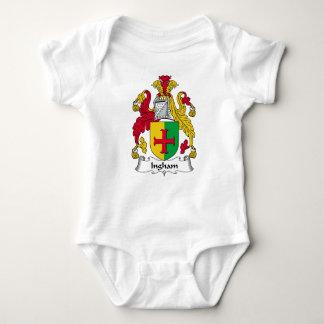 Ingham Family Crest Tee Shirt
