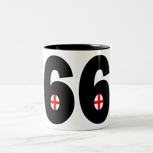 Inglaterra 1966 tazas de café