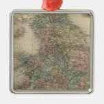 Inglaterra 3 ornaments para arbol de navidad