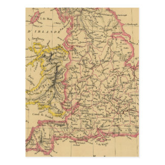 Inglaterra 4 tarjeta postal