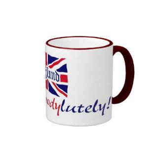 Inglaterra Absobloodylutely Tazas De Café
