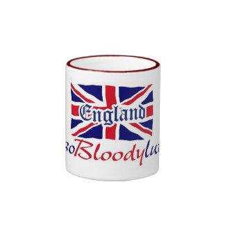 Inglaterra Absobloodylutely Taza De Dos Colores