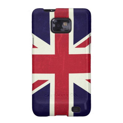 Inglaterra Bandeira Grunged Capa Para Galaxy S2